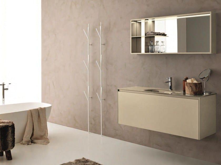 Hemp bathroom furniture set LIGHT 45 - COMPOSIZIONE G12 by NOVELLO
