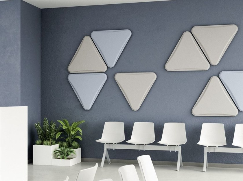 Fabric decorative acoustical panel LIGHTSOUND | Decorative acoustical panel by Quadrifoglio