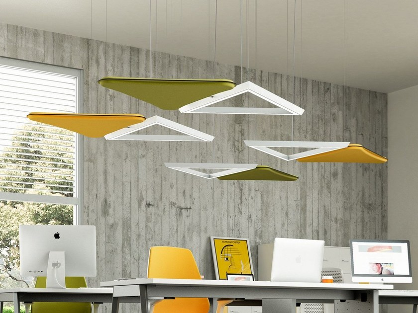 LED aluminium pendant lamp LIGHTSOUND | Pendant lamp by Quadrifoglio