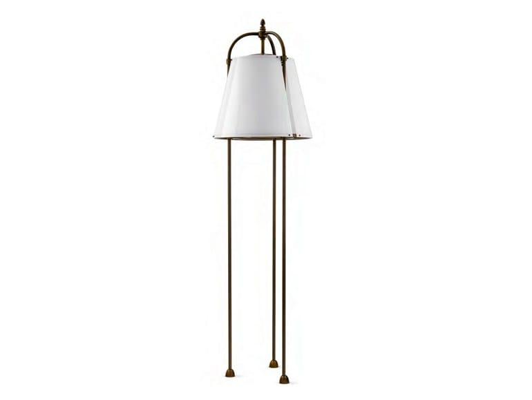Brass Floor lamp LILLÀ - Aldo Bernardi