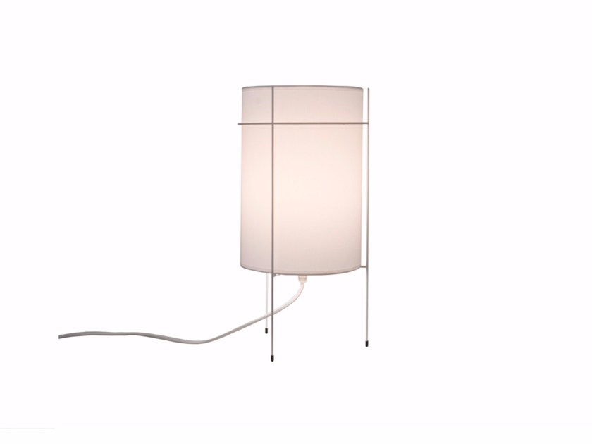 Cotton table lamp LIN - Branca-Lisboa