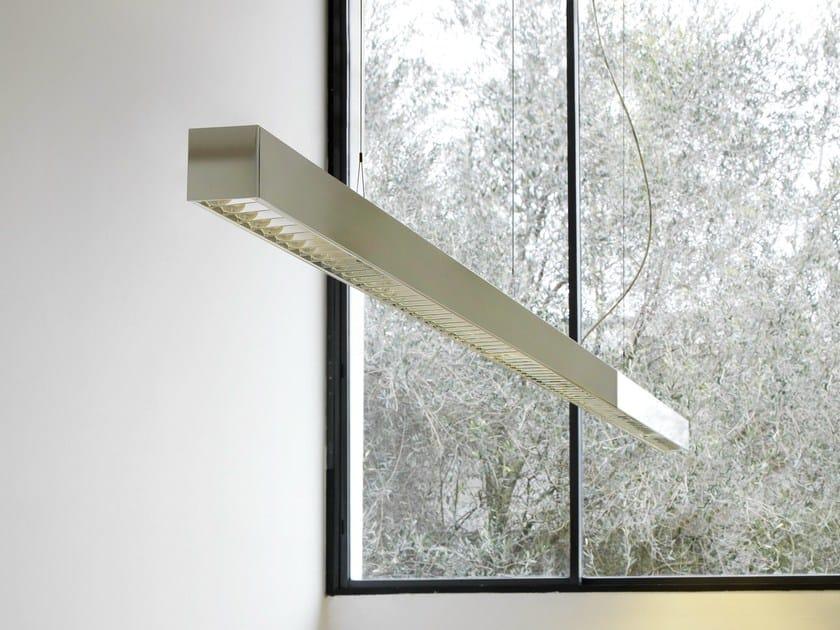 Direct light modular pendant lamp LINEA 1 - FontanaArte