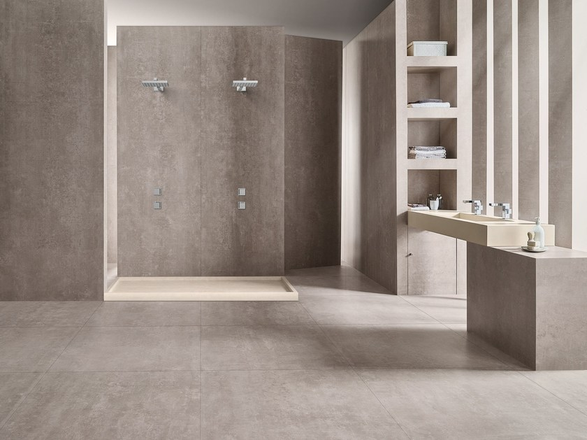 Wall/floor tiles with stone effect LINEA SUBWAY by MARGRES