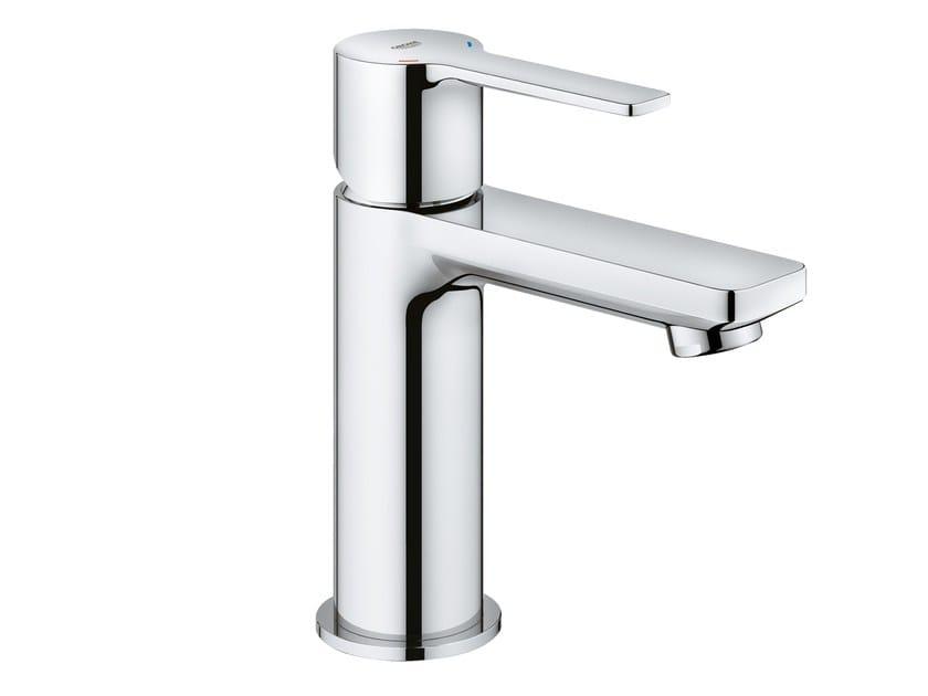 Countertop single handle washbasin mixer LINEARE NEW | Metal washbasin mixer by Grohe