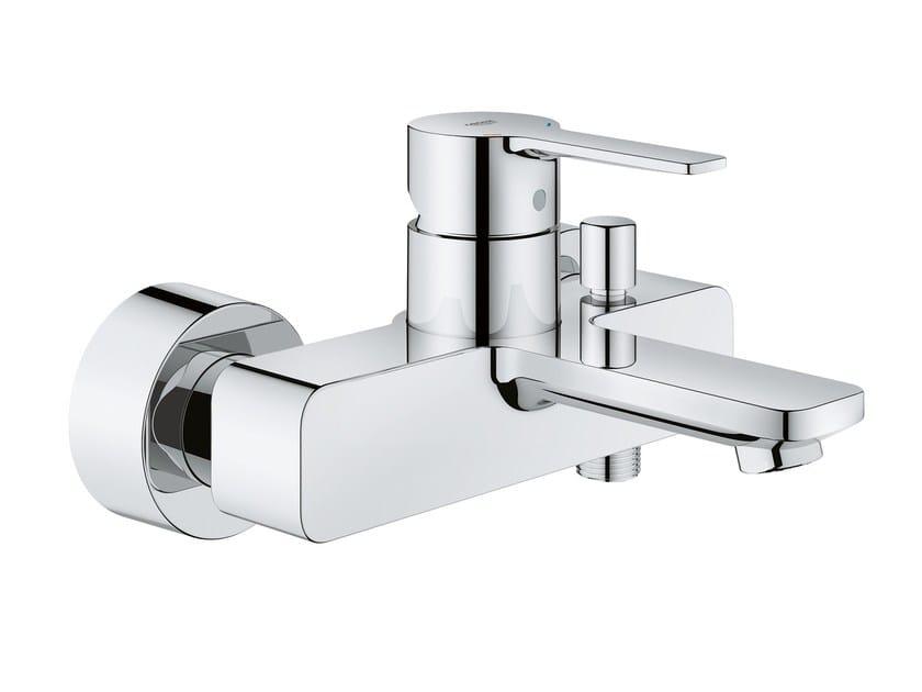 2 hole bathtub mixer LINEARE NEW   Wall-mounted bathtub mixer by Grohe
