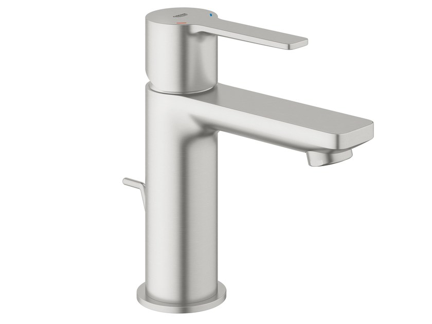 Single handle washbasin mixer with pop up waste LINEARE NEW | Washbasin mixer by Grohe