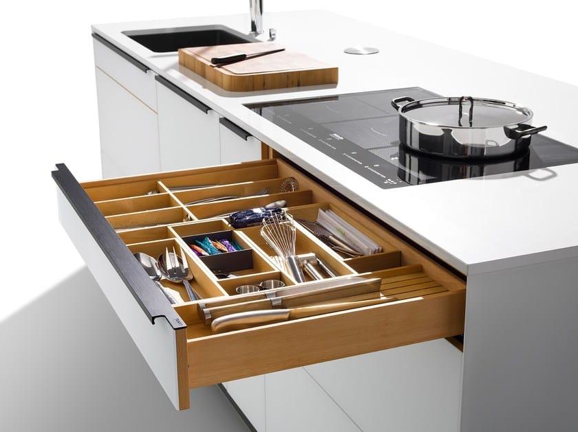Cucina componibile in legno massello LINEE - Team 7