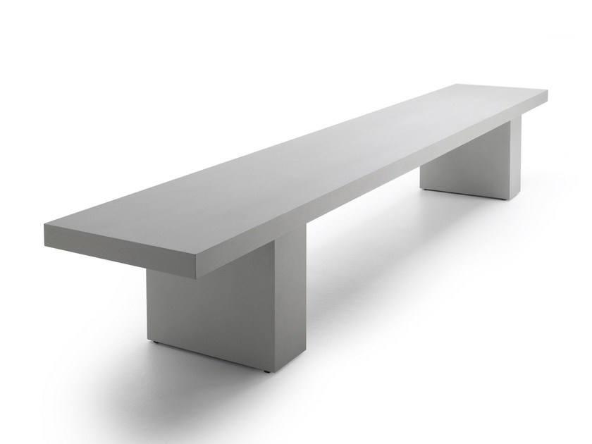 Stone bench LINK 2 | Stone bench - MDF Italia