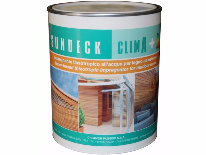 Wood treatment LIOS SUNDECK CLIMA+ by Chimiver Panseri