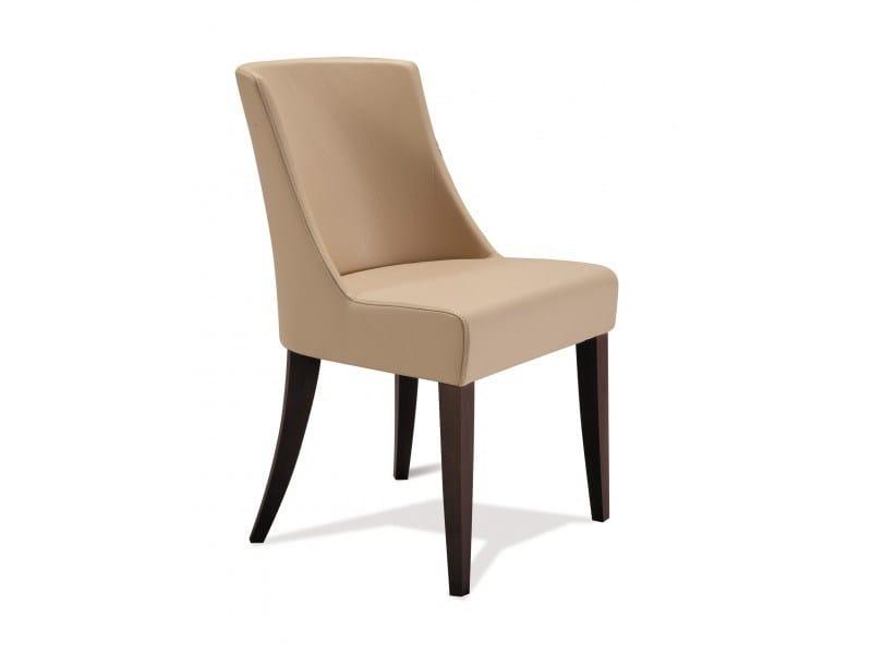 Leather chair LISA - Canapés Duvivier