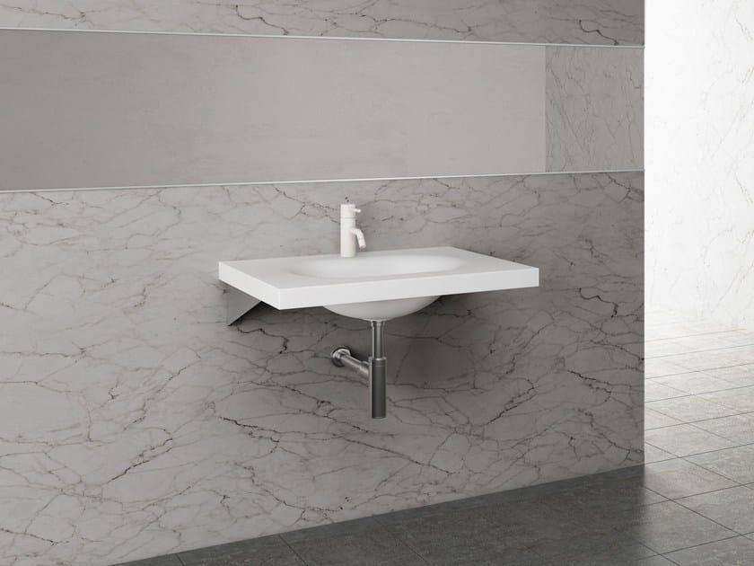 Rectangular single washbasin LISCIO - Sanwa Company