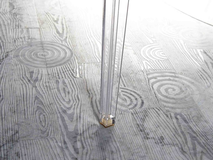 Marble wall/floor tiles with wood effect ESSENCE - LISTONE 600 by Lithos Mosaico Italia