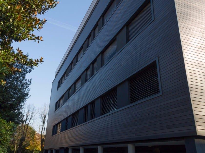 Adaxite facade panel LISTOTECH WALL by LISTOTECH DECKING QUARTZ