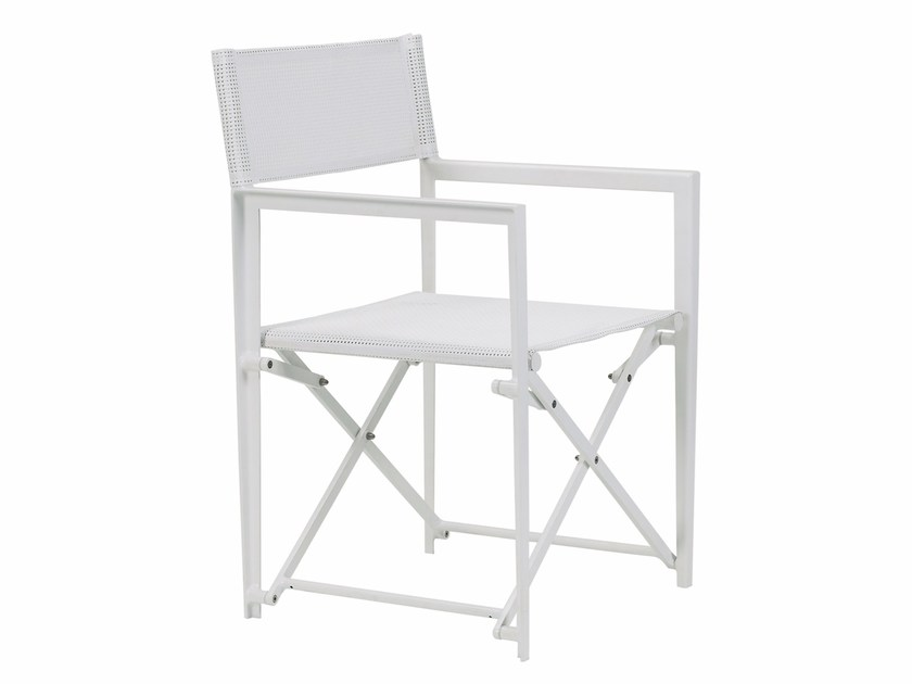 Folding garden chair with armrests LITTLE-L | Folding chair - ROYAL BOTANIA