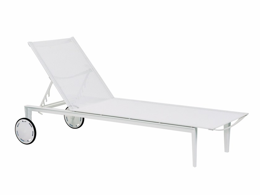 Recliner Batyline® garden daybed with Casters LITTLE-L   Garden daybed - ROYAL BOTANIA