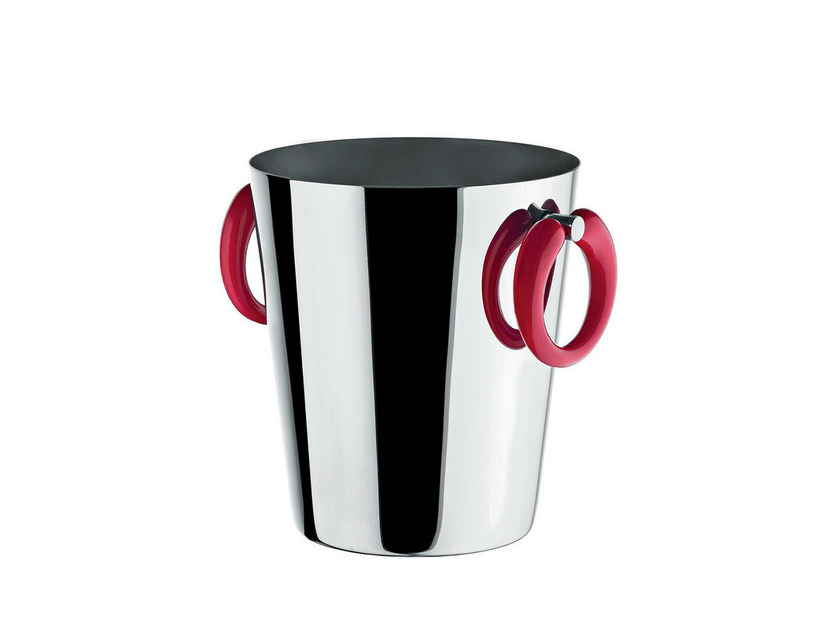 Stainless steel ice bucket LITTLE POP - MOON BAR by ALESSI