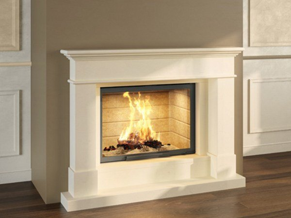 Stone Fireplace Mantel LIVIA - Axis