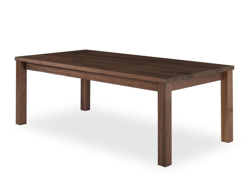 Extending rectangular solid wood table LIVINGSTONE by Riva 1920