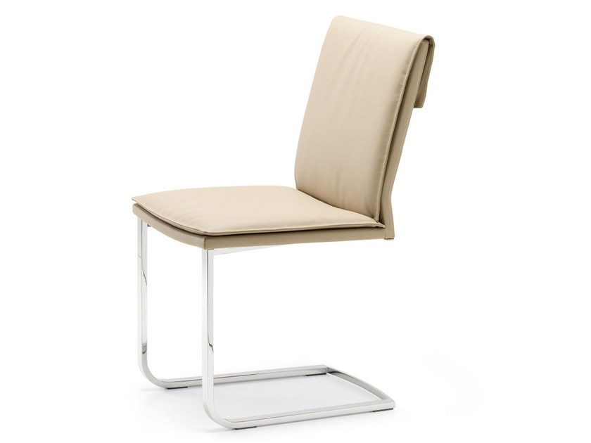 Cantilever upholstered chair LIZ - Cattelan Italia