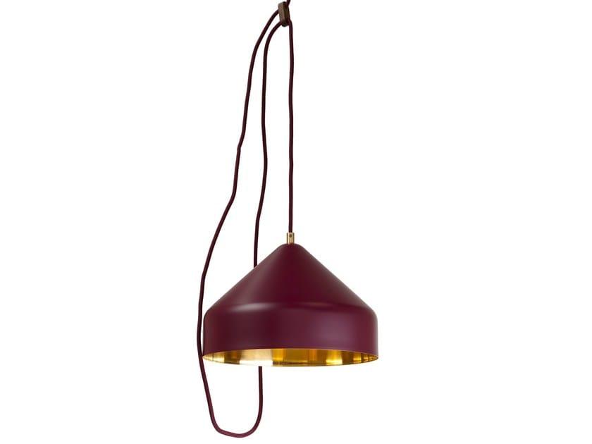 Lampada a sospensione in ottone LLOOP | Lampada a sospensione in ottone - Vij5