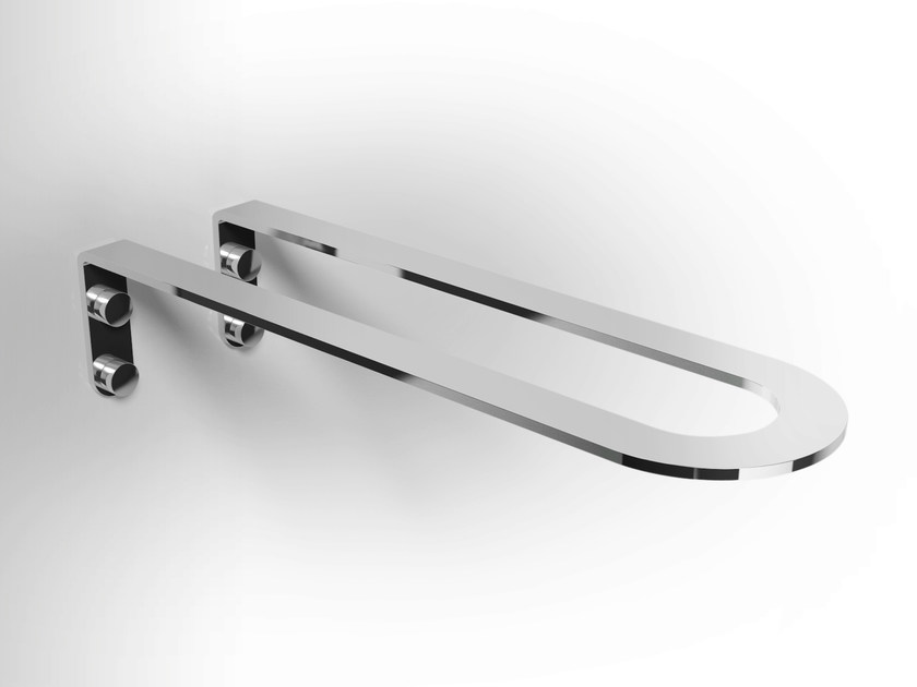 Stainless steel towel rack LOBELIA INOX | Towel rack - Alna