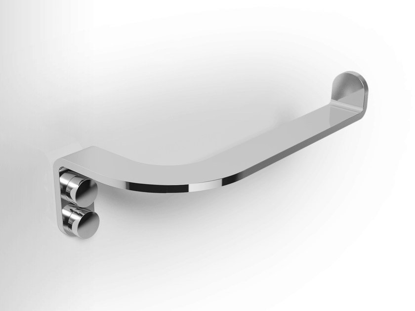 Stainless steel toilet roll holder LOBELIA INOX | Toilet roll holder by Alna
