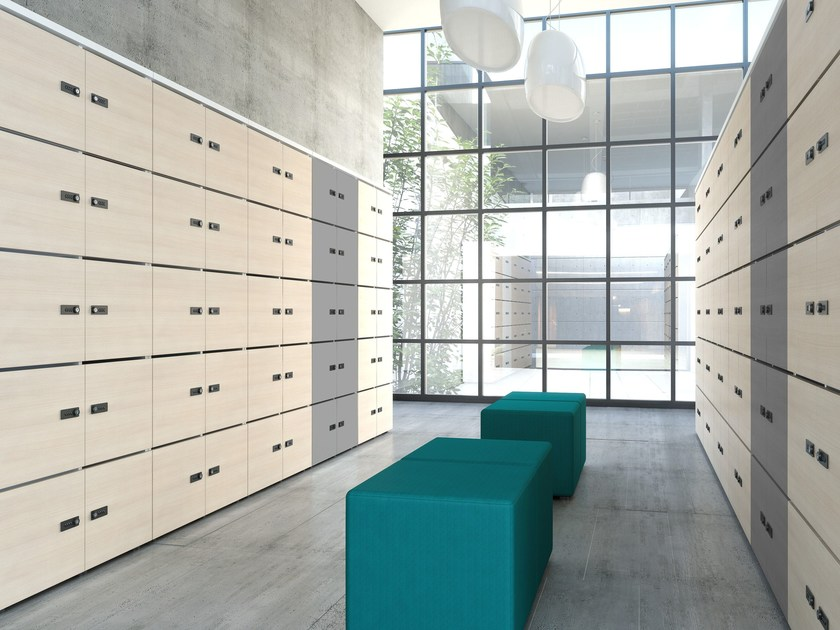 Wooden safe-deposit box Safe-deposit box - MDD