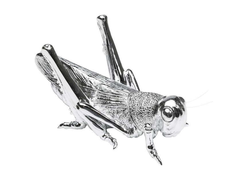 Resin decorative object LOCUST CHROME - KARE-DESIGN