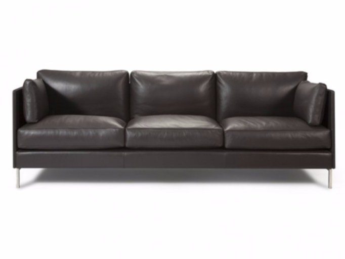 4 seater leather sofa LODGE | 4 seater sofa - Canapés Duvivier