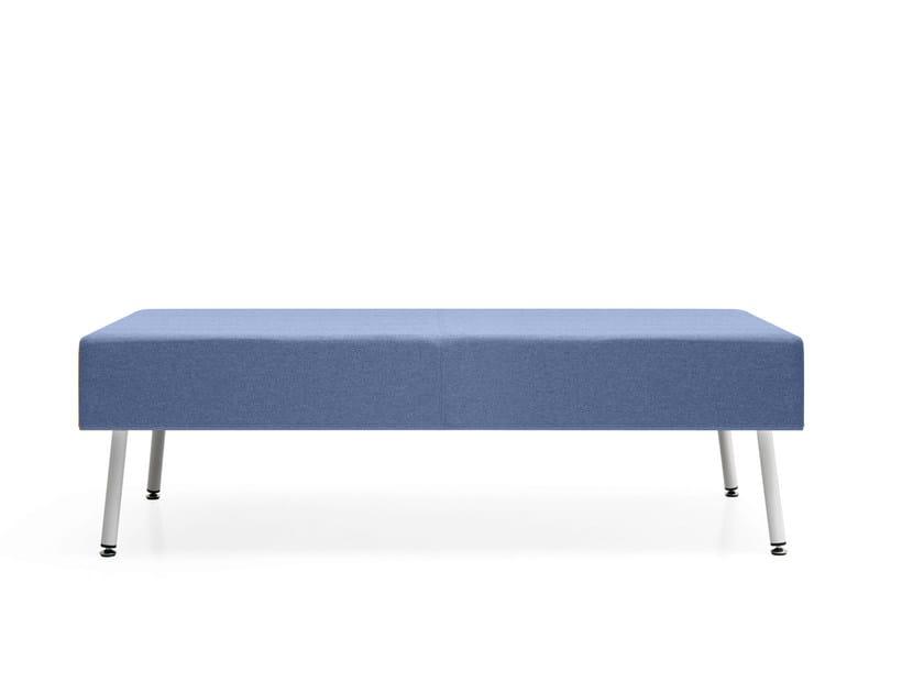 Backless fabric bench seating LOFT 2.0 | Bench seating - Quinti Sedute