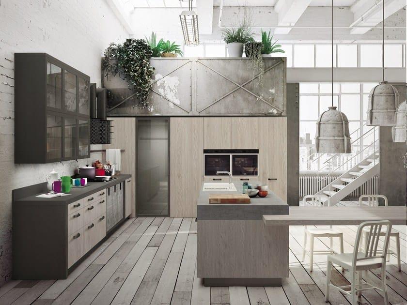 cucina componibile con isola loft | cucina con isola - snaidero - Cucine Loft