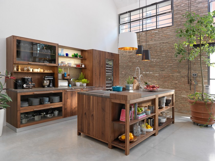 loft k che by team 7 nat rlich wohnen design sebastian desch. Black Bedroom Furniture Sets. Home Design Ideas