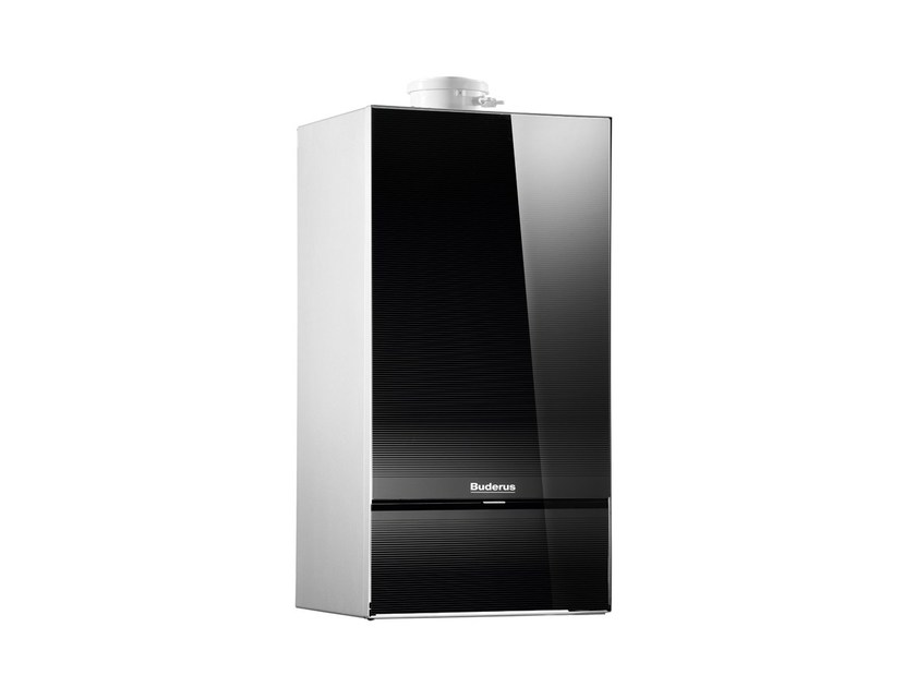 Wall-mounted tempered glass condensation boiler LOGAMAX PLUS GB172I by BUDERUS