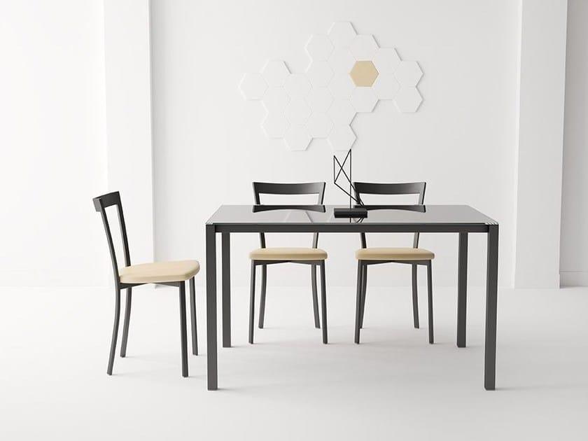 Mesa de cocina rectangular LOGIC By CANCIO