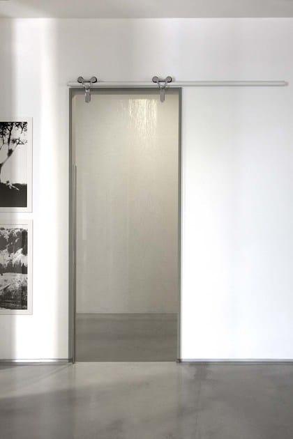 Porta Scorrevole In Vetro Senza Telaio Logika Porta