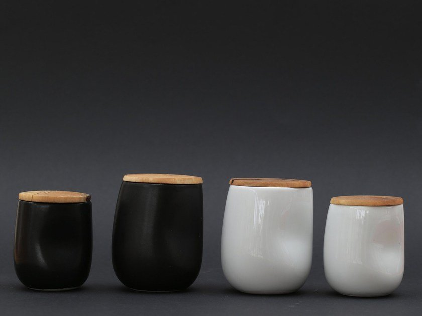 Wooden lid for cups LOKI by North Limited