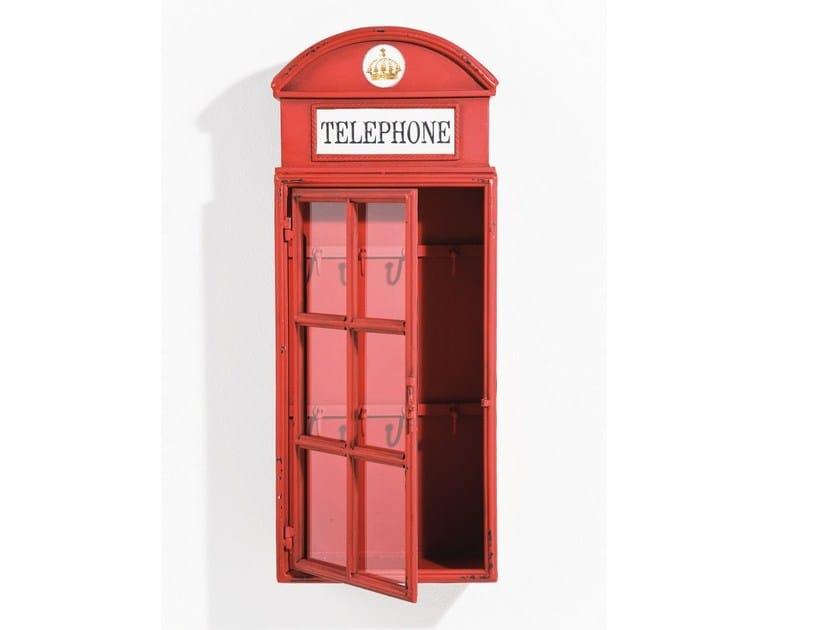 Metal key cabinet LONDON TELEPHONE - KARE-DESIGN