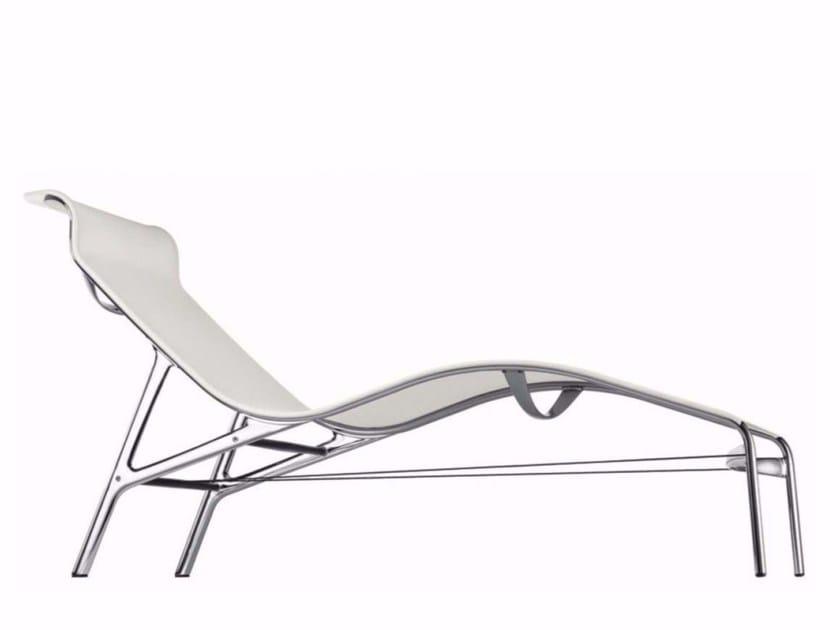 Mesh lounge chair LONGFRAME - 419 - Alias