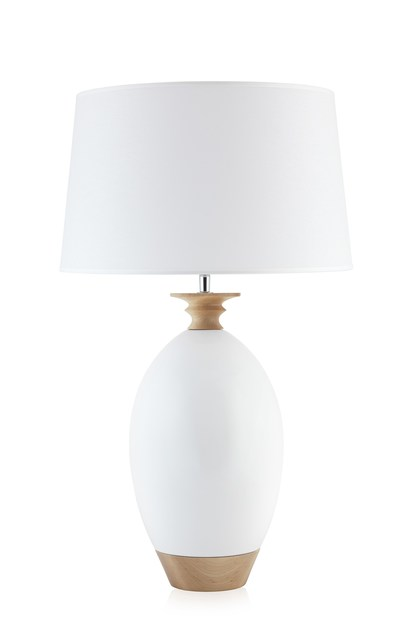 Contemporary style ceramic table lamp LONGHO by ENVY