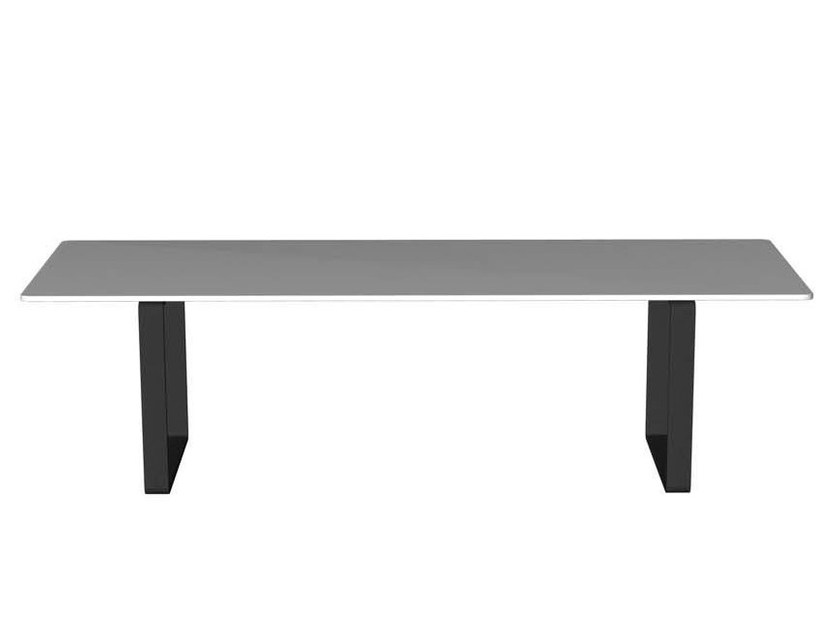 Rectangular laminate coffee table LONGWAY | Rectangular coffee table by Segis