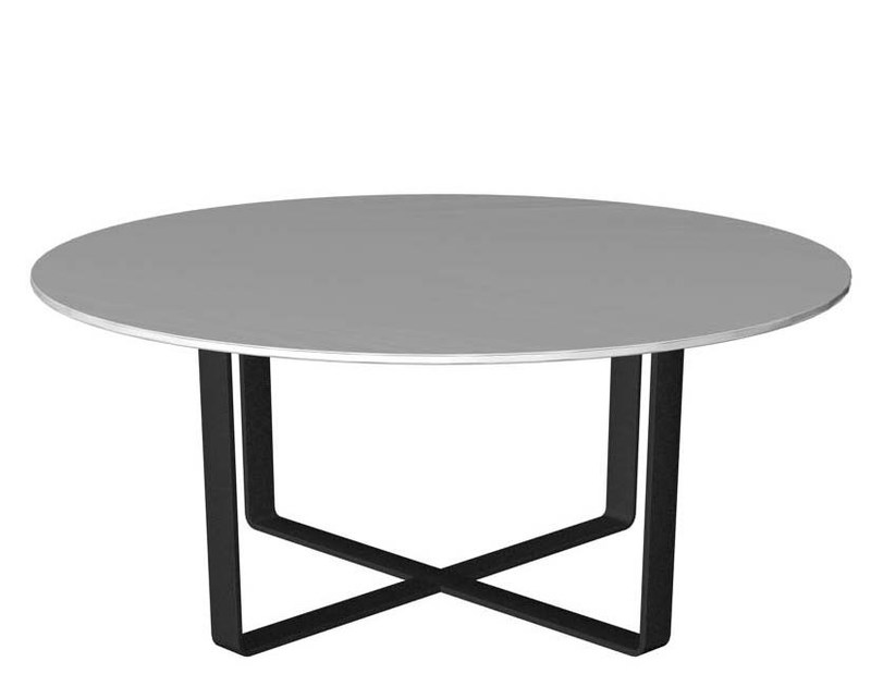 Round laminate coffee table LONGWAY | Round coffee table by Segis