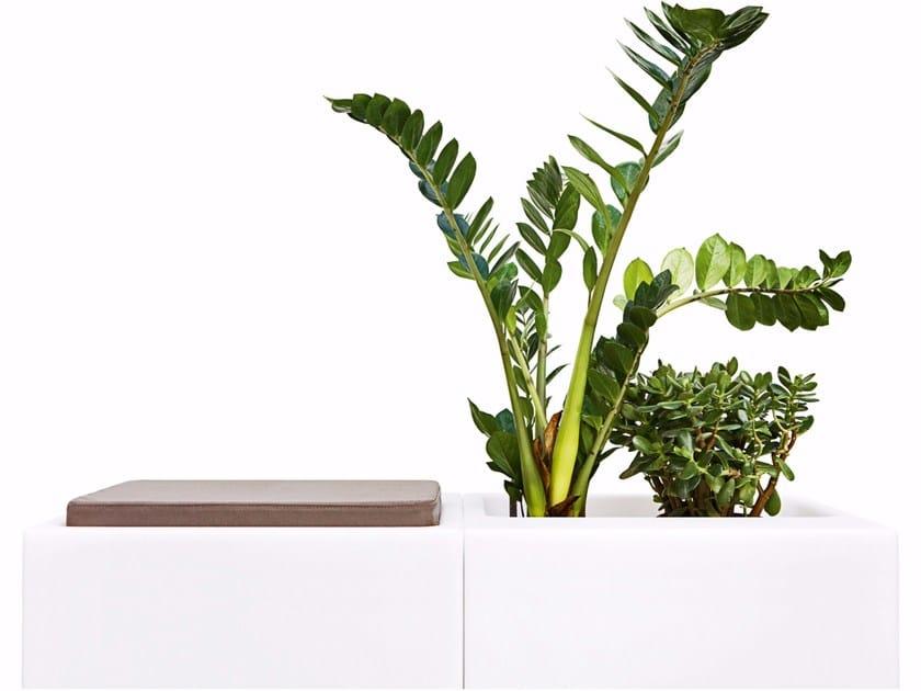 Polypropylene Flower pot / pouf LOOK - Varaschin