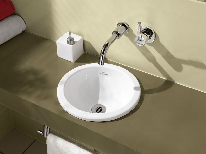 Inset ceramic washbasin LOOP & FRIENDS | Inset washbasin - Villeroy & Boch