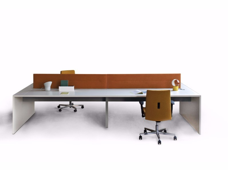 Multiple office workstation LOOP IN | Multiple office workstation by ESTEL GROUP