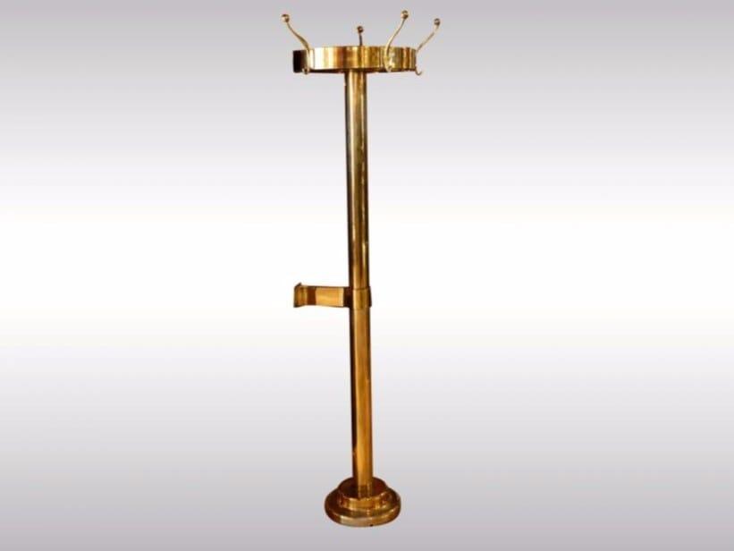 Brass coat stand LOOSHAUS - Woka Lamps Vienna