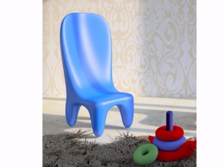 Sedia in Adamantx® per bambini LORIBLANCHE | Sedia con schienale alto - ZAD ITALY