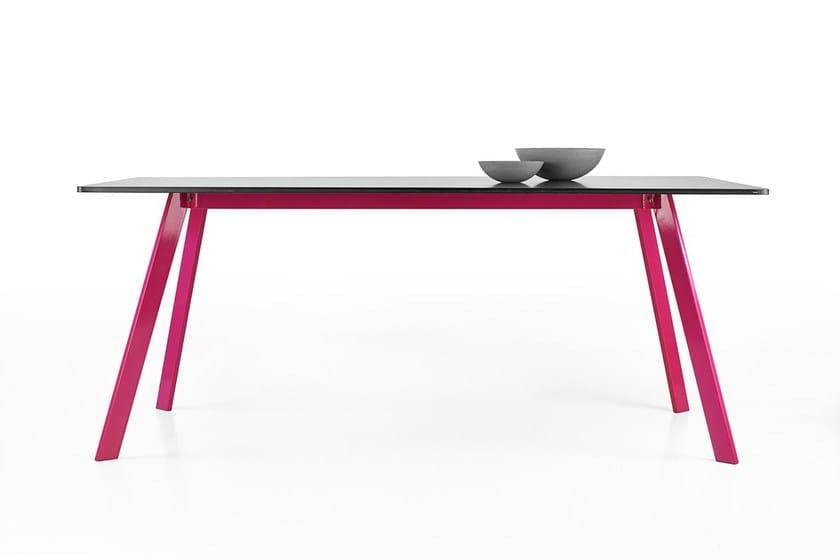 Concrete table LORIKEET - Gravelli