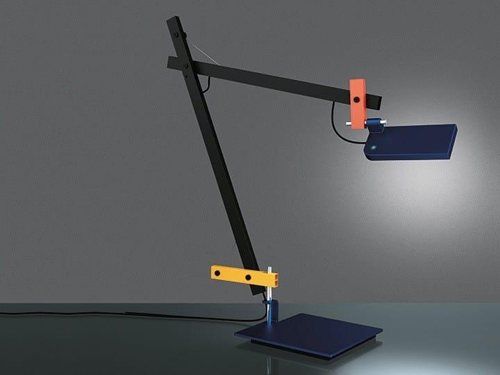 LED adjustable table lamp LOTEK - Artemide Italia