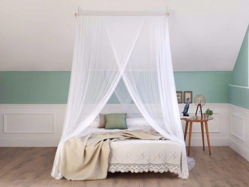 Zanzariera a baldacchino per letto matrimoniale lotti - Zanzariera da letto ...