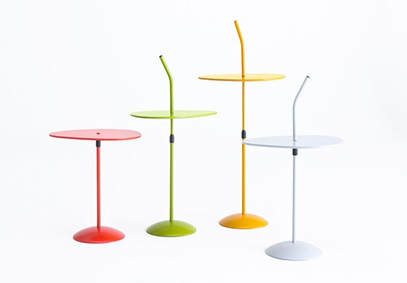 Lacquered side table LOTUS - Grado Design Furnitures